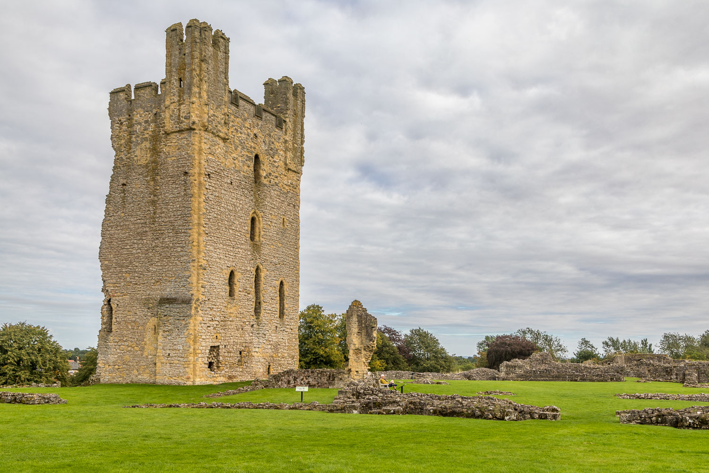 Helmsley Castle, East Tower