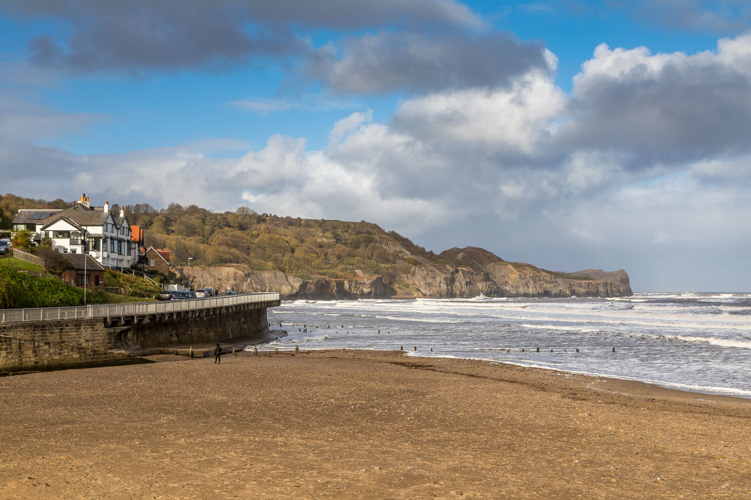 Runswick Bay walk, Sandsend Beach