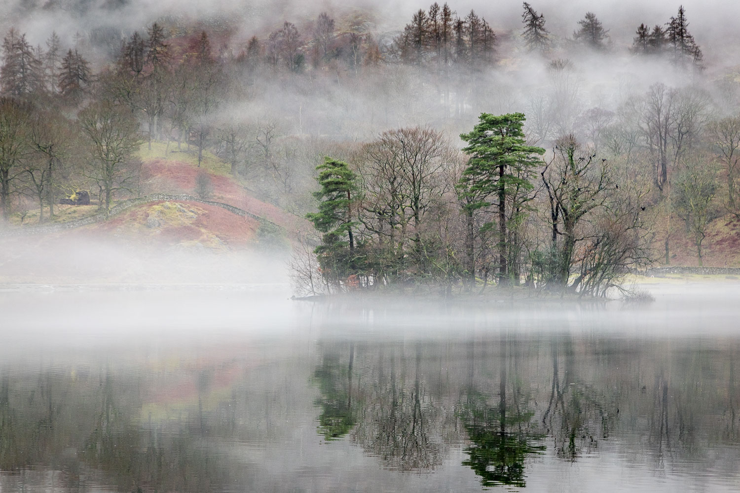 Rydal Water, Little Isle