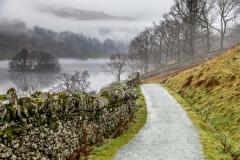 Rydal Water walk, Loughrigg Terrace