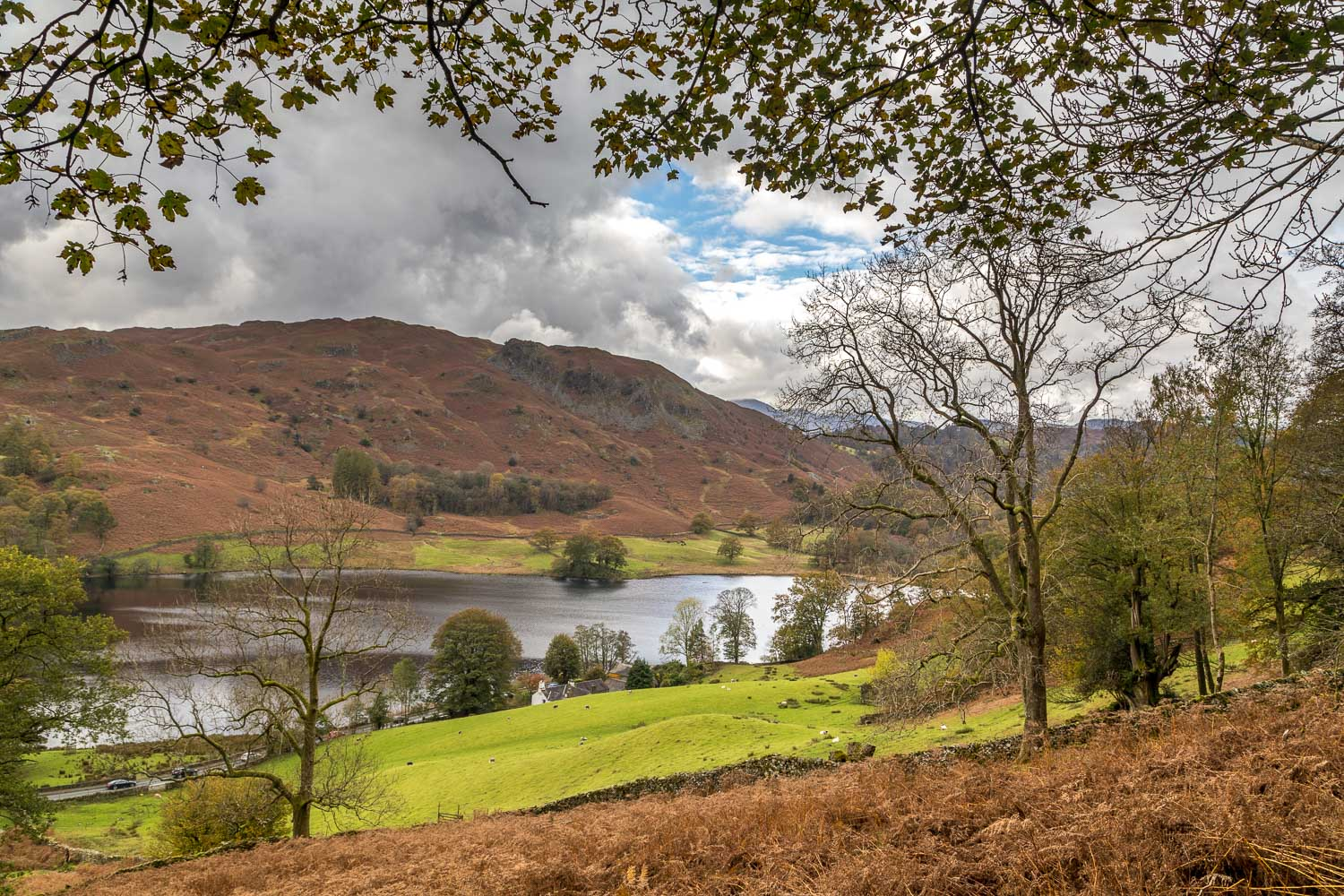 Rydal Water, Loughrigg Fell