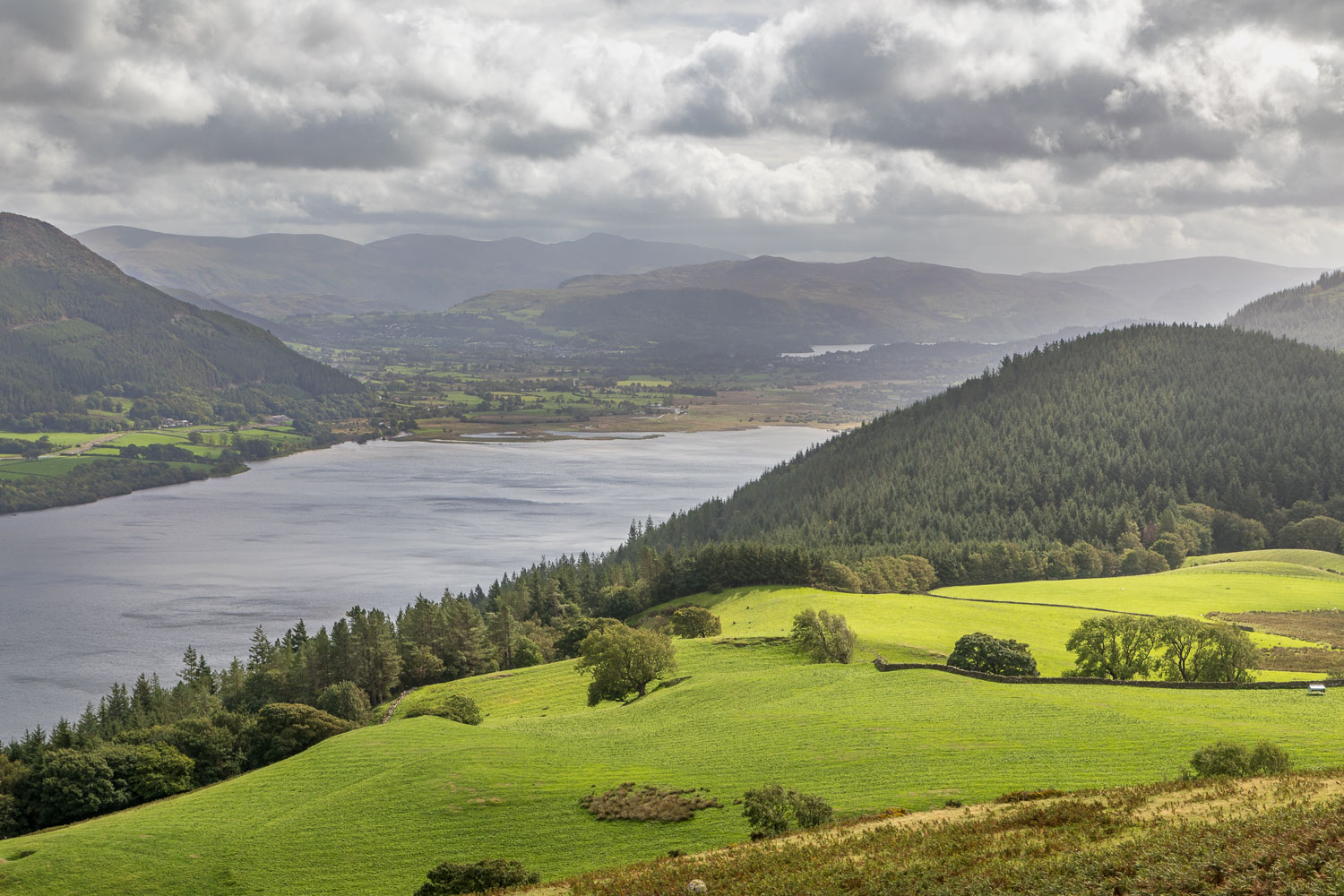 Derwent Water from Lothwaite