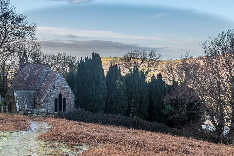 Sale Fell walk, St Margaret's Church
