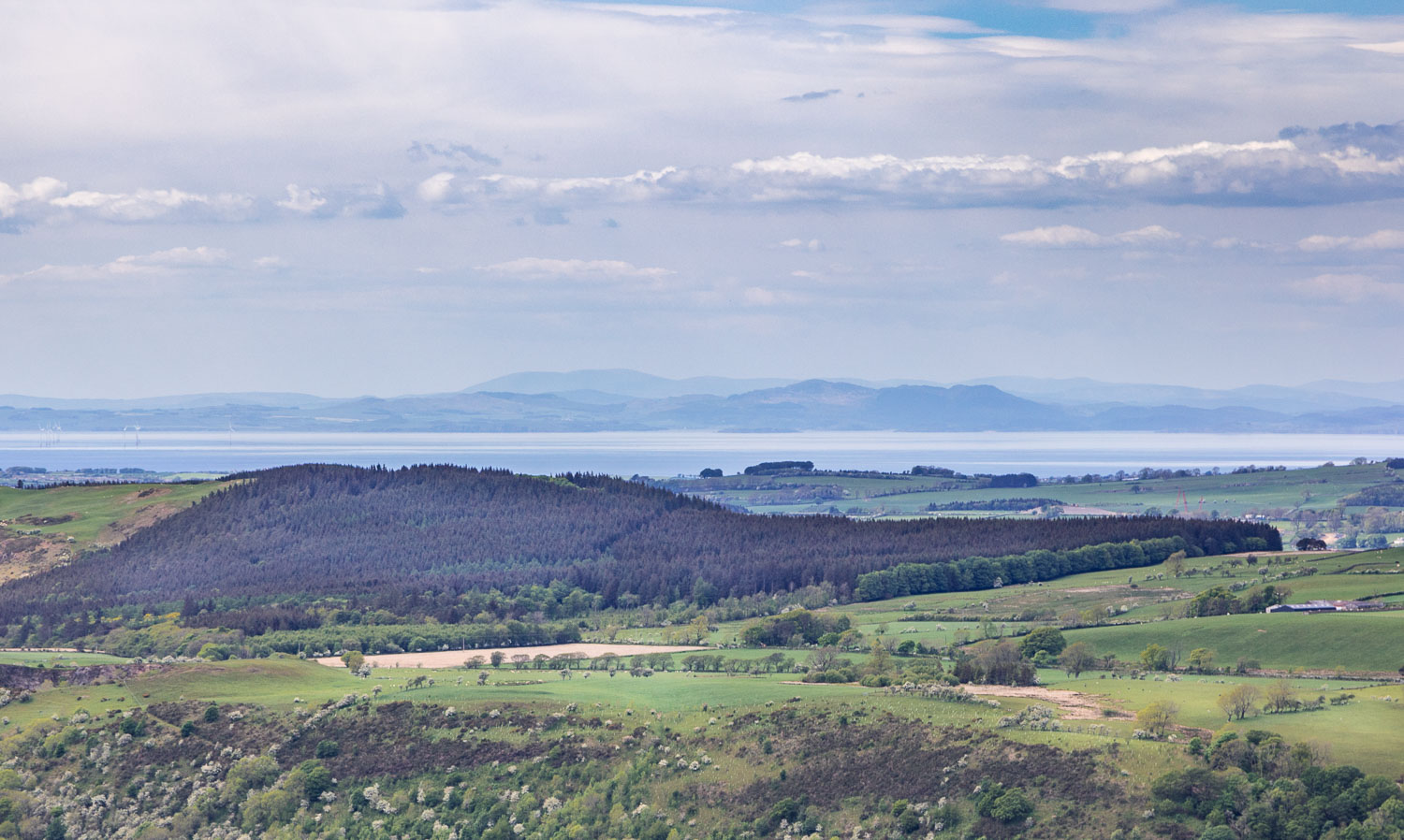 Solway firth from Lothwaite