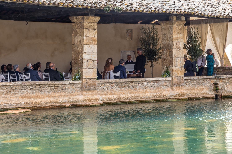 Bagno Vignoni wedding