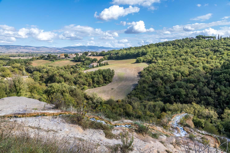 Bagno Vignoni, Parco dei Mulini