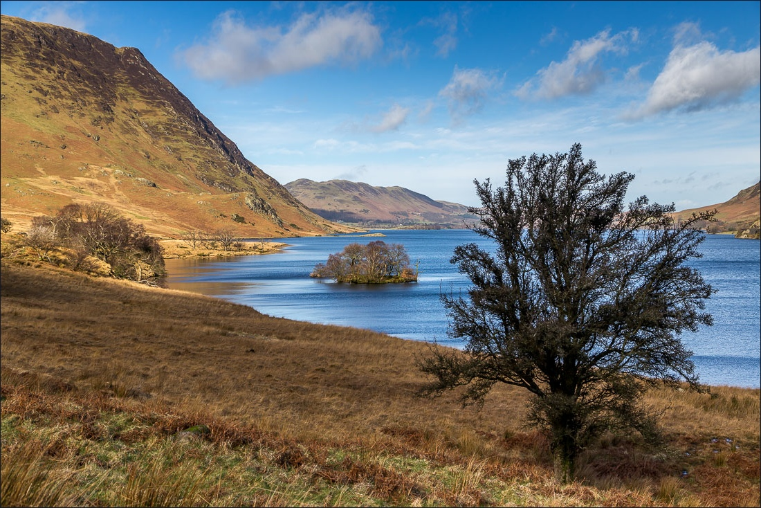 Scale Force walk Lake District, Crummock Water