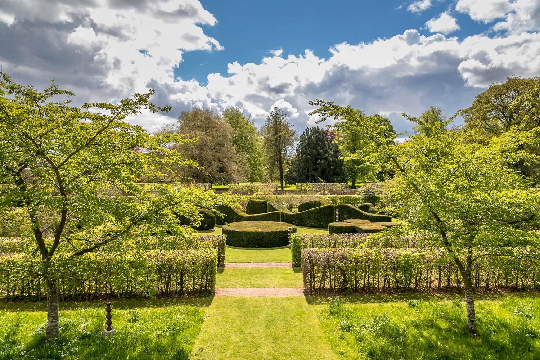 Scampston Hall Walled Garden, The Mount, Serpentine Garden