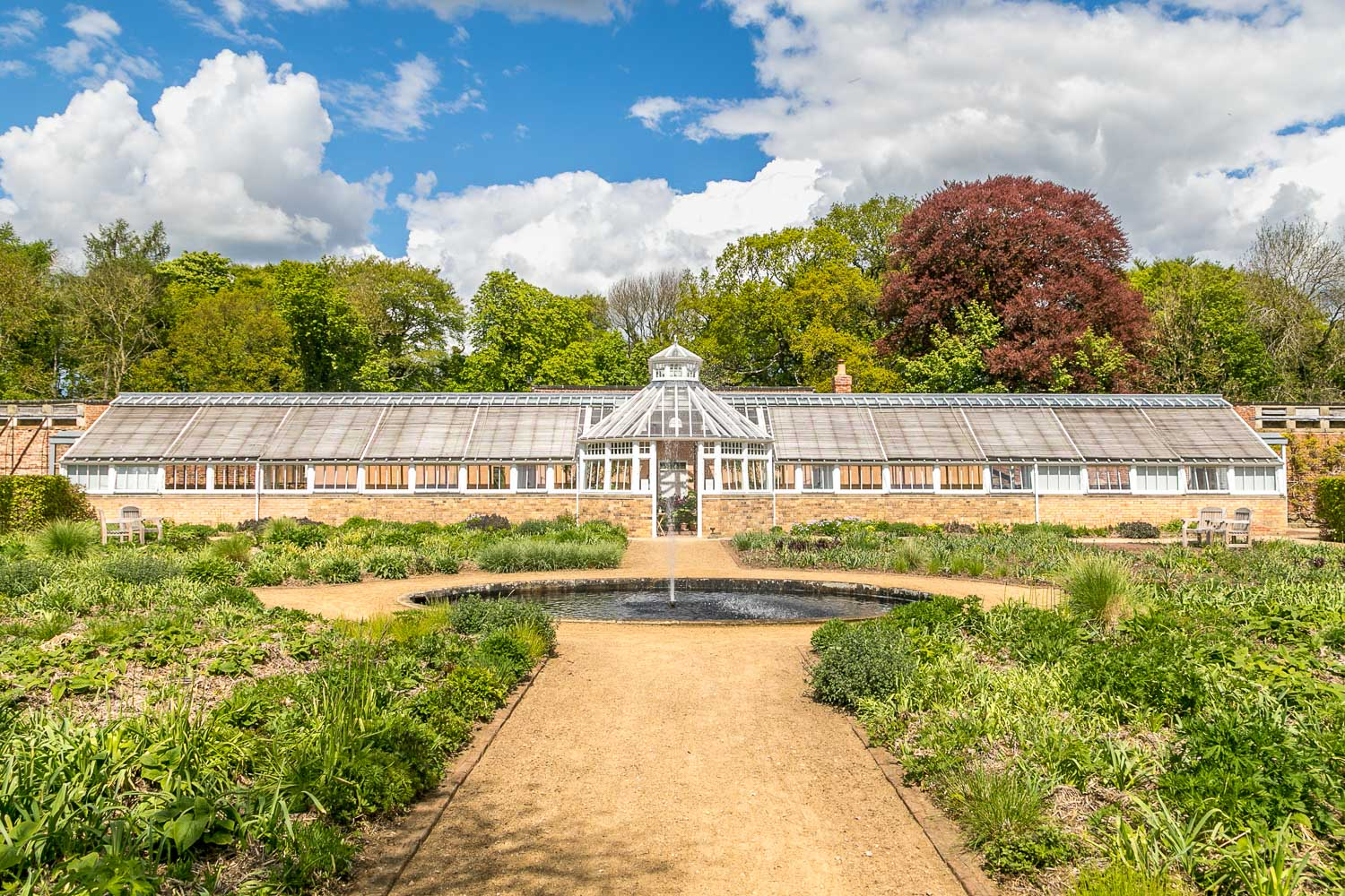 Scampston Hall conservatory