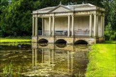 Scampston Garden, Palladian Bridge, Capability Brown