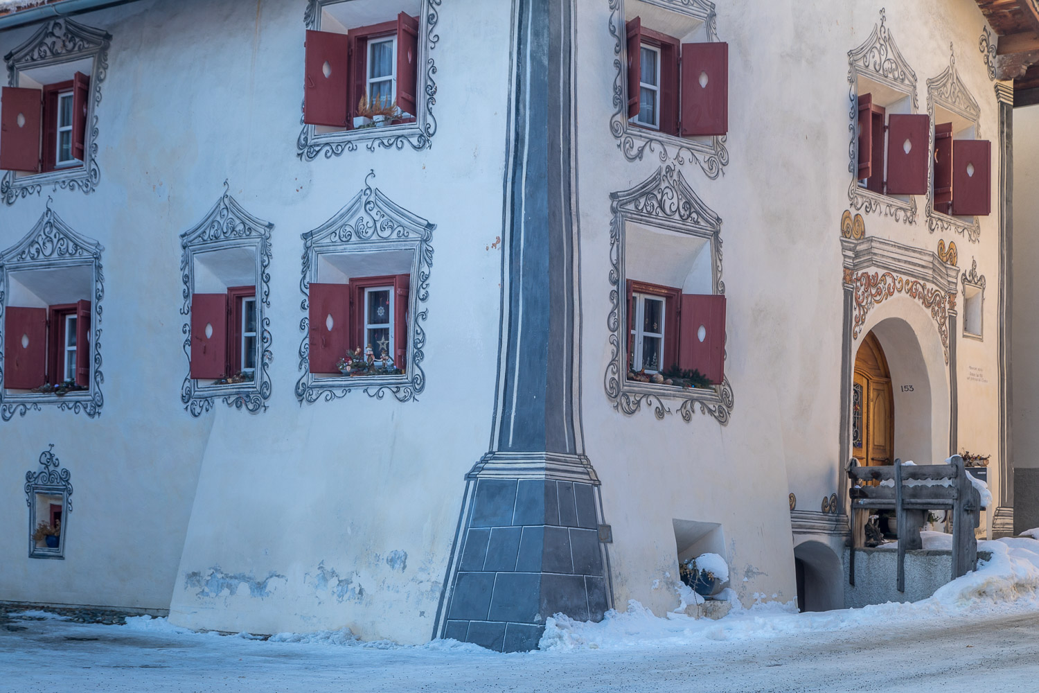 Scuol old town