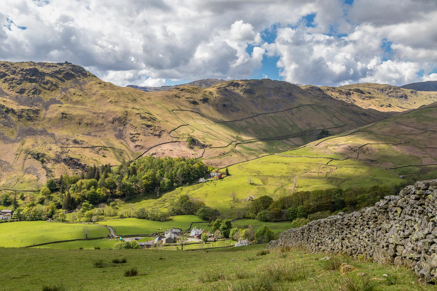 Helm Crag and Gibson Knott