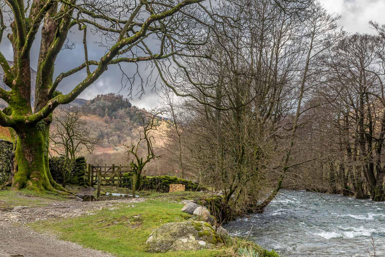 River Derwent, Castle Crag