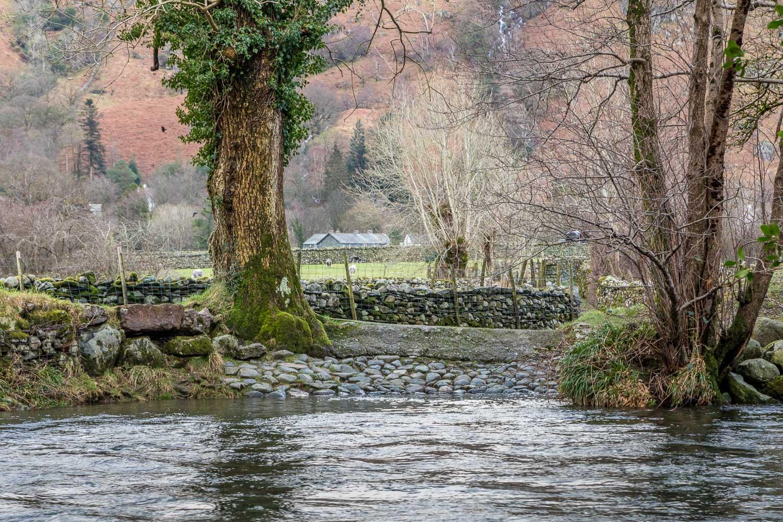 River Derwent stepping stones, ford