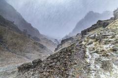 Castle Crag, snow