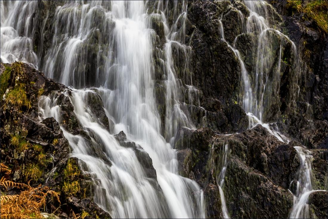 Seat Sandal walk, Grisdedale Tarn waterfalls