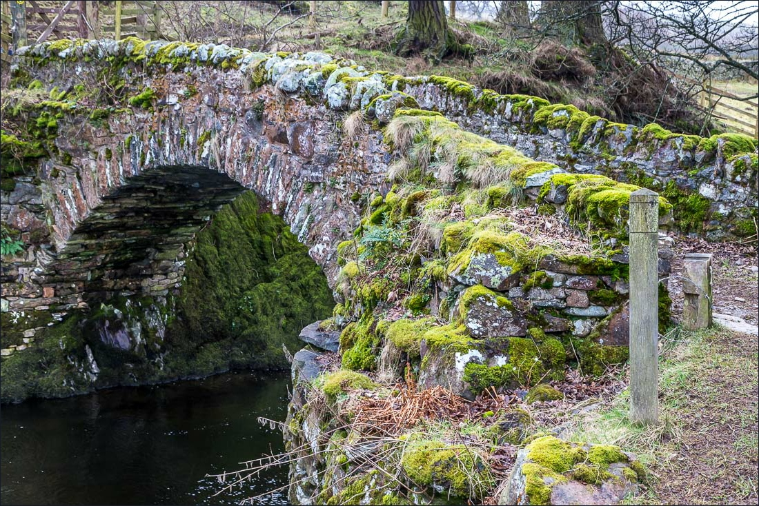 Shap Abbey walk, Parish Crag Bridge