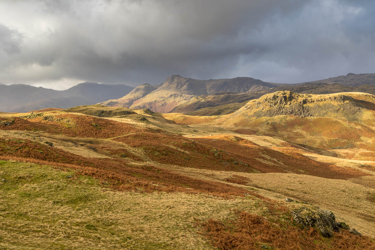 Silver How, Langdale Pikes
