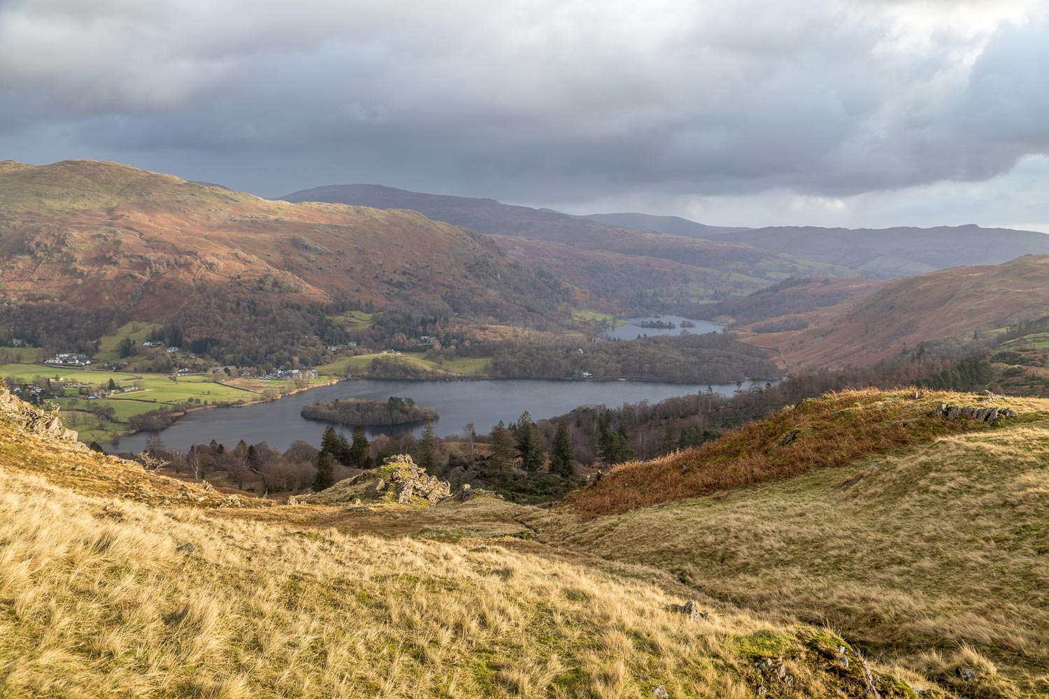 Grasmere, Rydal Water
