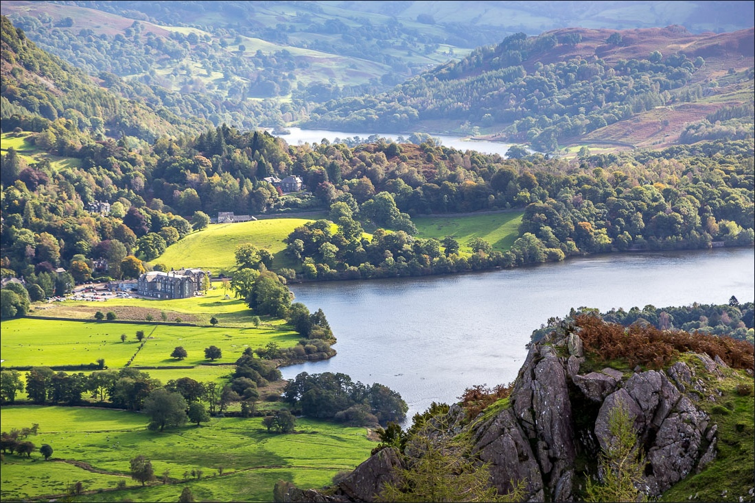 Silver How walk, Grasmere, Rydal Water