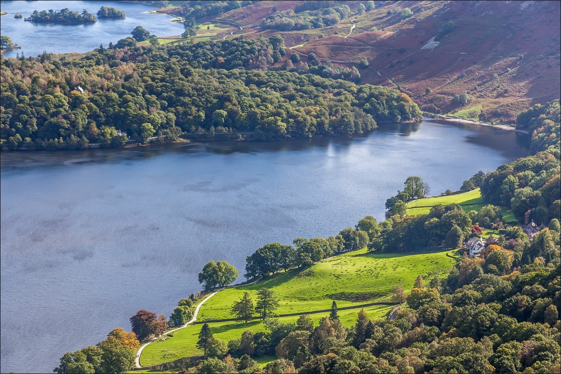 Silver How walk, Rydal Water