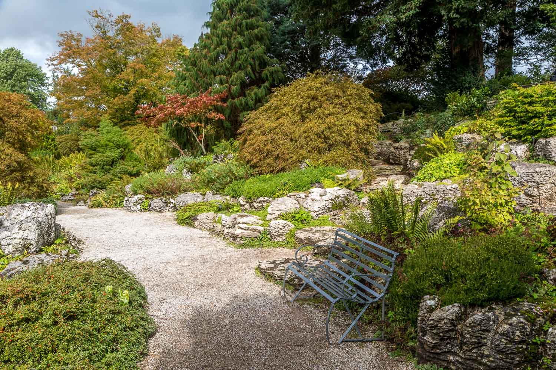 Sizergh Castle limestone garden