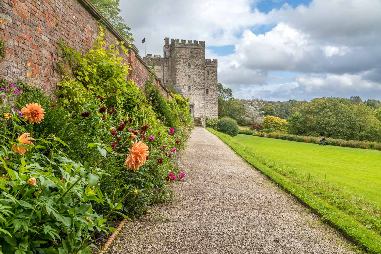 Sizergh Castle garden