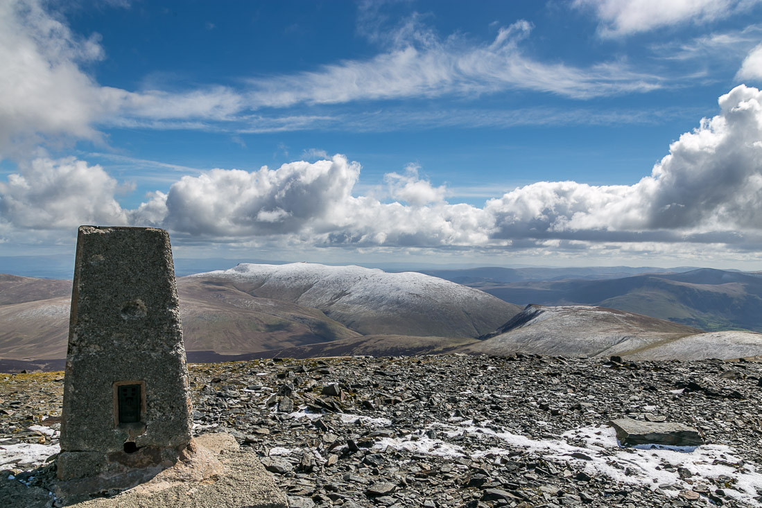 Skiddaw summit view