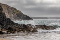 St David's Head walk, Porthmelgan beach