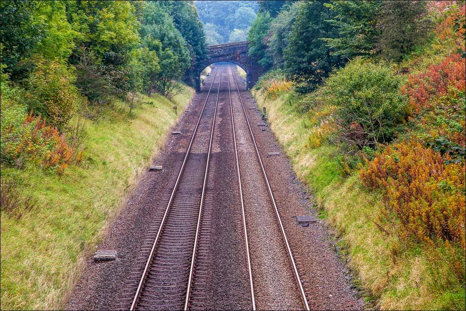 Railway line, Stainforth
