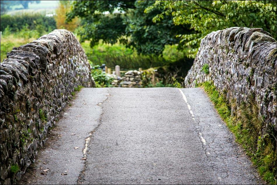 Stainforth walk, River Ribble bridge