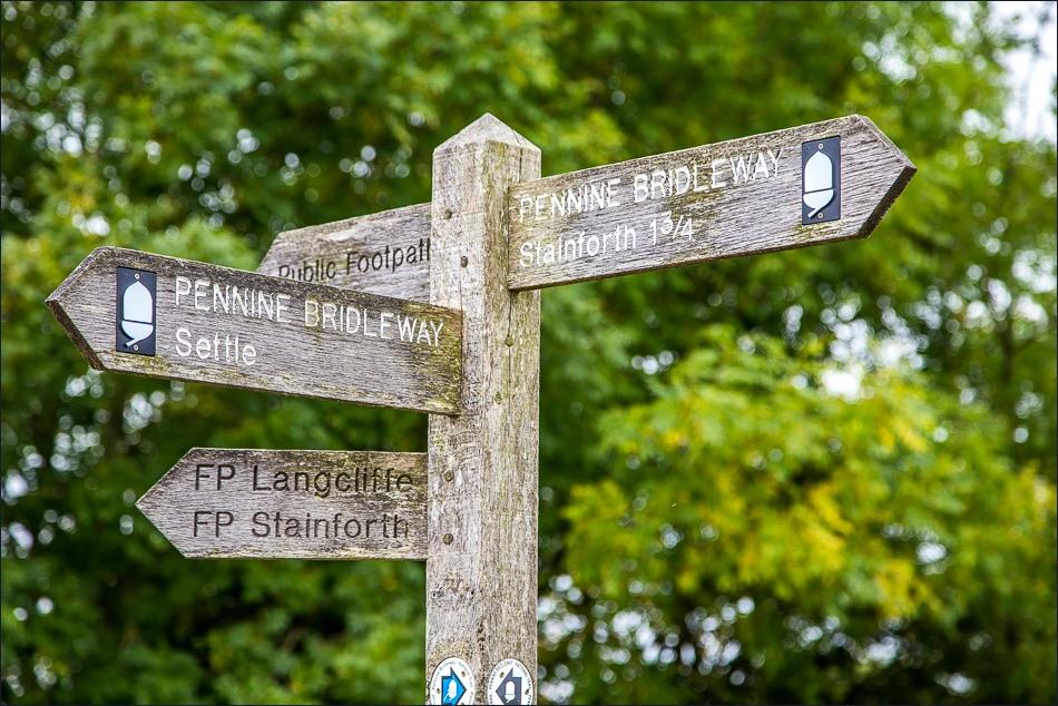 Pennine Bridleway sign
