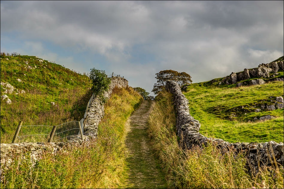 Stainforth walk, dry stone walls