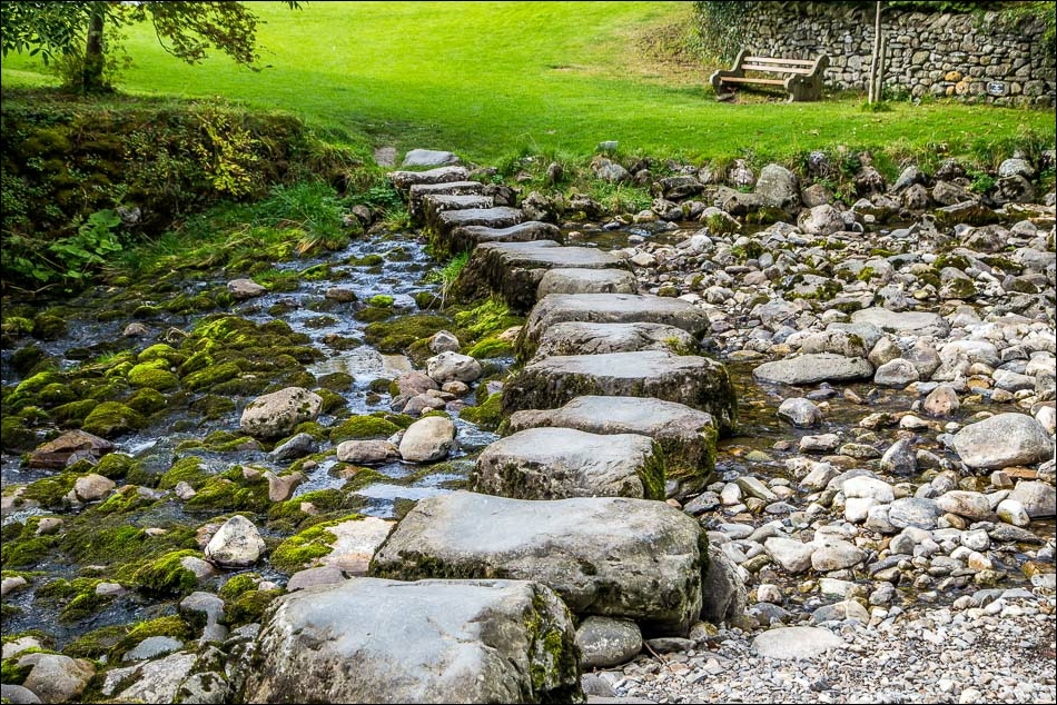 Stainforth Beck stepping stones