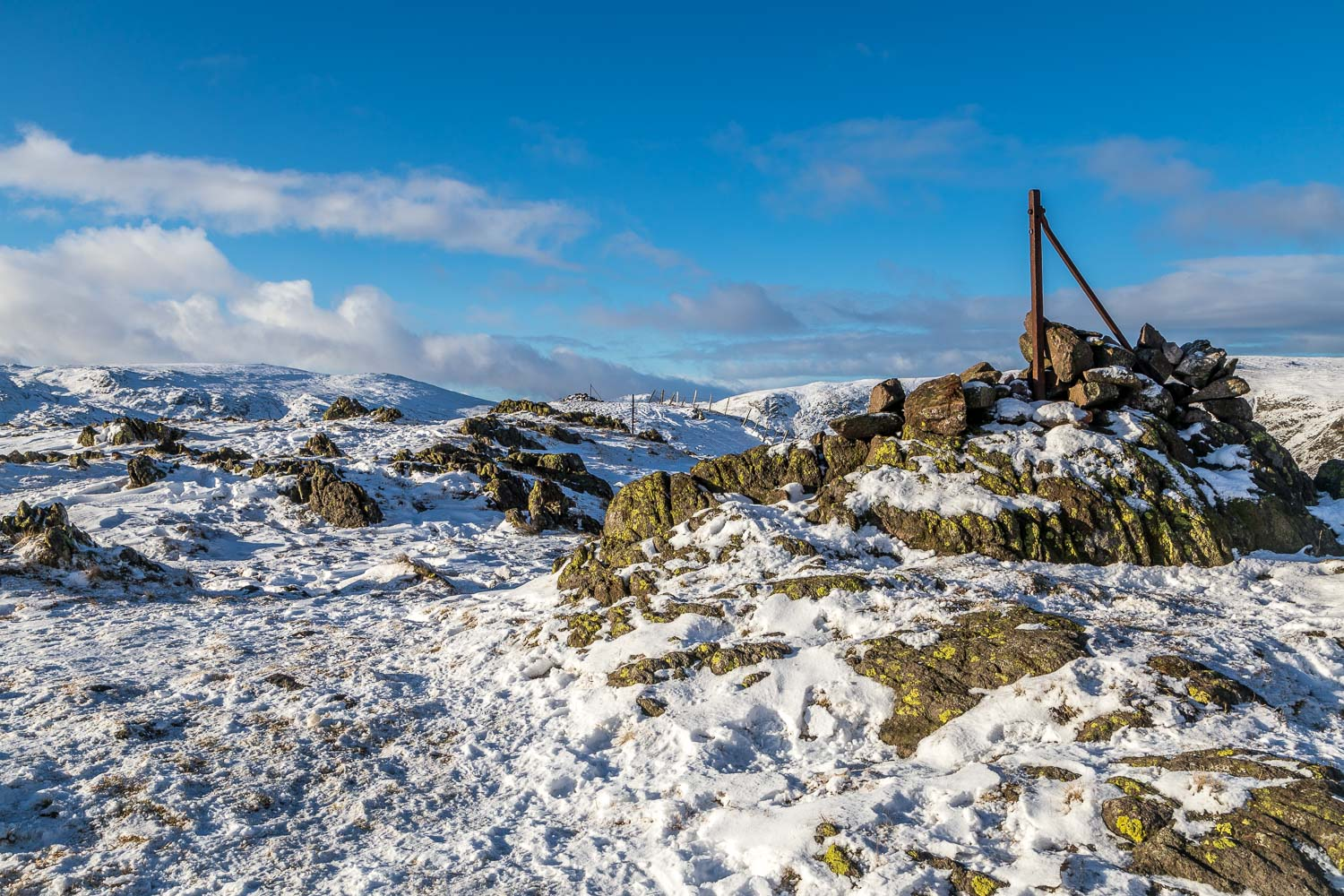 Steel Fell summit