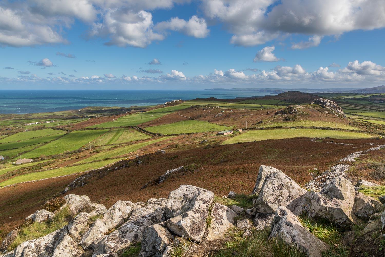 Garn Fawr view