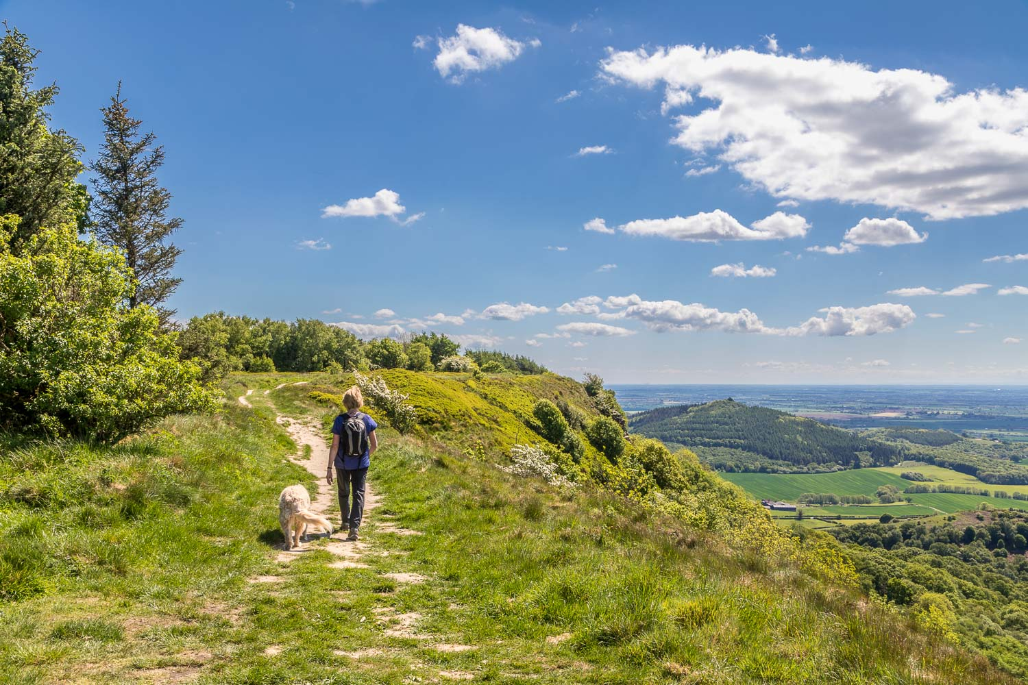 Sutton Bank walk Cleveland Way