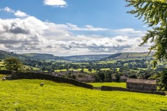 Swaledale walk, Reeth