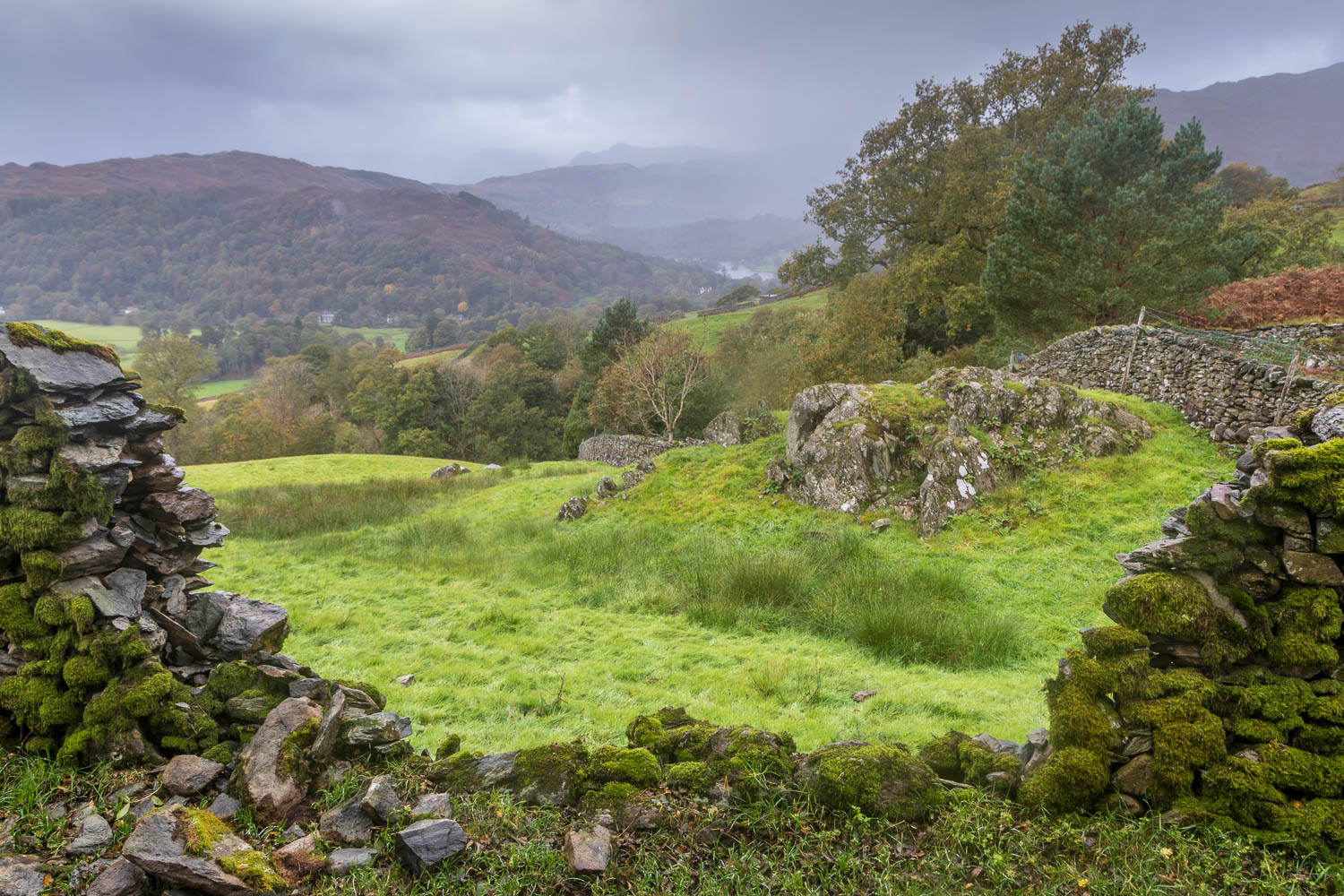 Rydal Water view