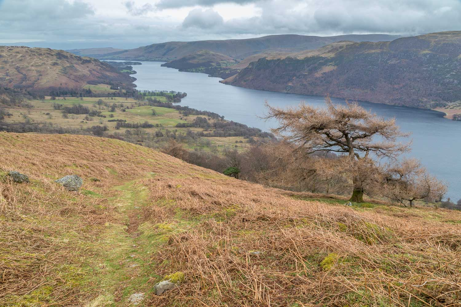 Swineside Knott walk, Ullswater