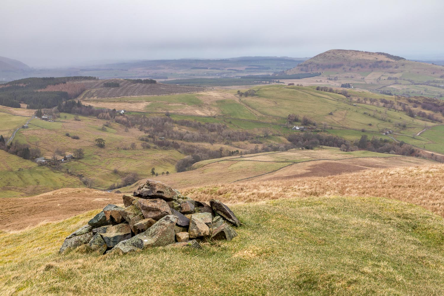 Swineside Knott walk, Common Fell