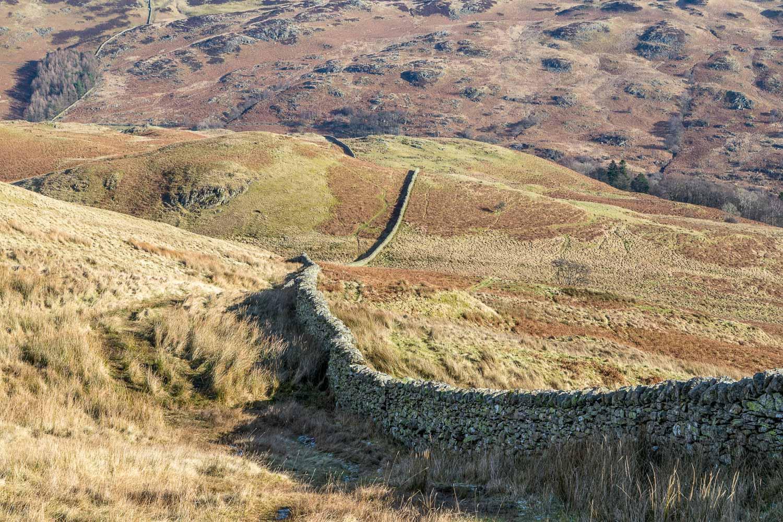 Swineside Knott walk, Gowbarrow Fell