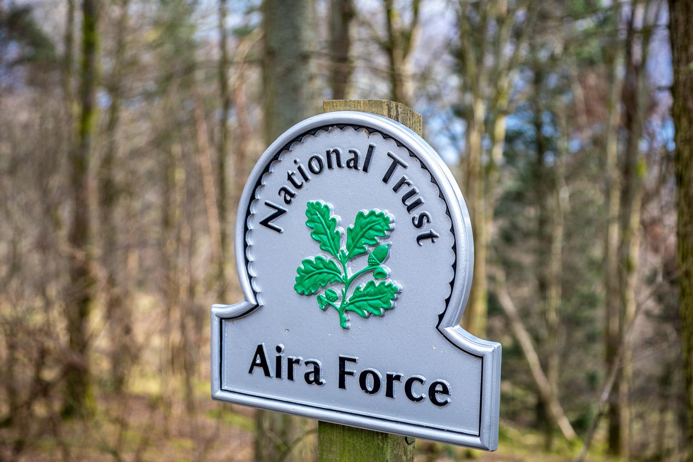 Aira Force car park