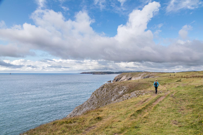 Tenby walk, Giltar Point walk