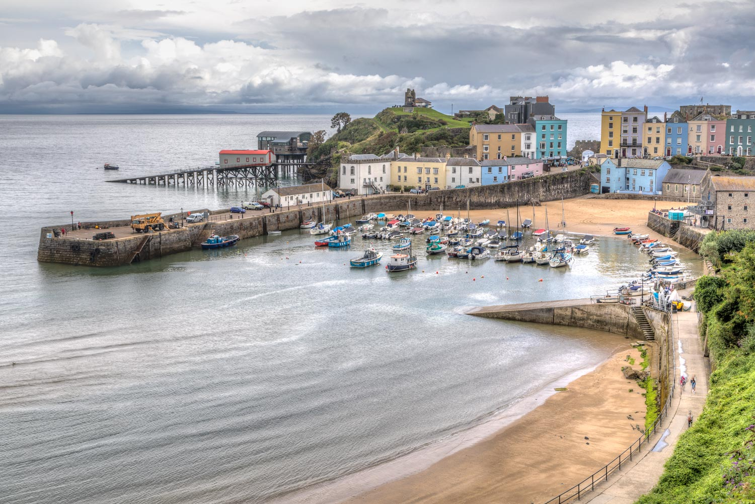 Tenby Harbour, Tenby North Beach