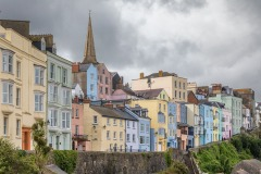 Tenby walk, Giltar Point walk, St Mary's Church Tenby