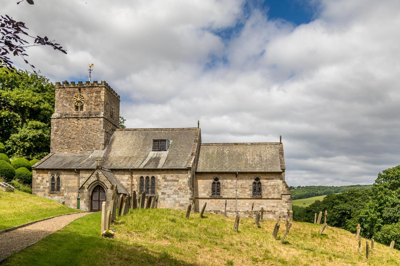 Thixendale walk, Kirby Underdale, All Saints Church