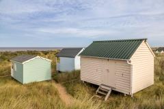 Thornham walk, beach huts