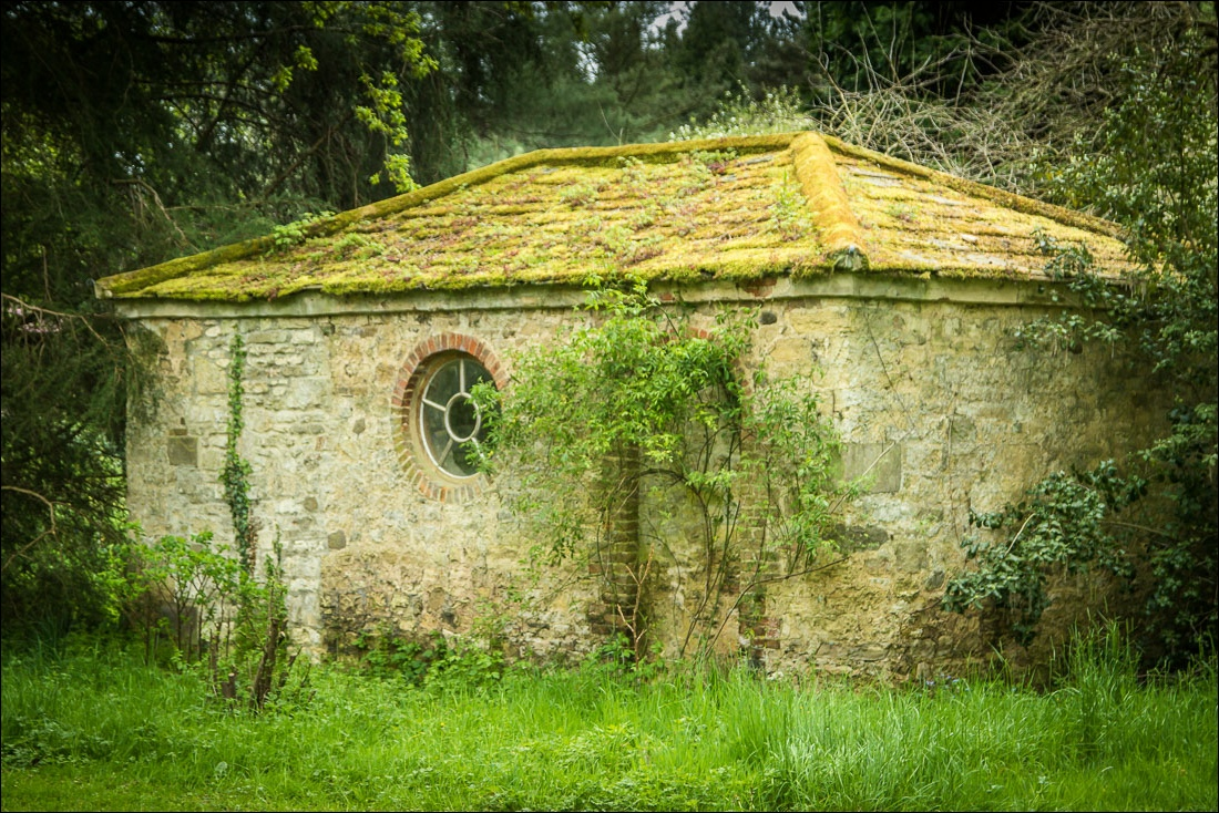 old building, Thorp Perrow Arboretum