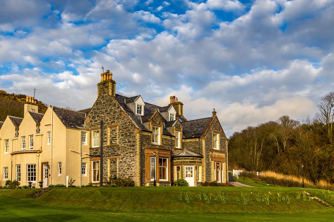 Knockinaam Lodge hotel
